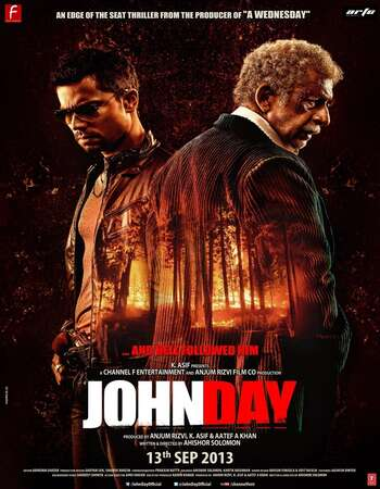 John Day 2013 Hindi 350MB HDRip 480p ESubs