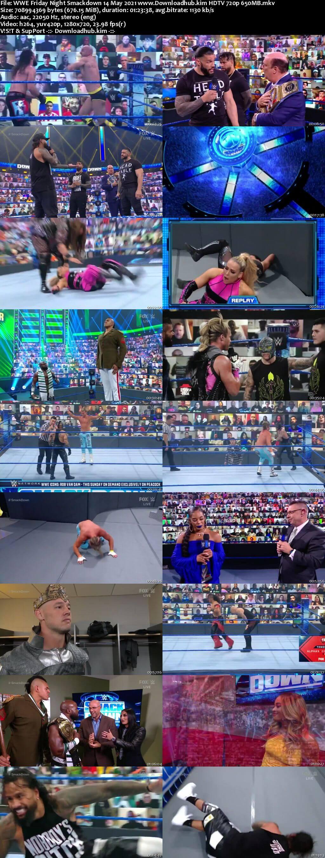 WWE Friday Night Smackdown 14th May 2021 720p 300MB HDTV 480p