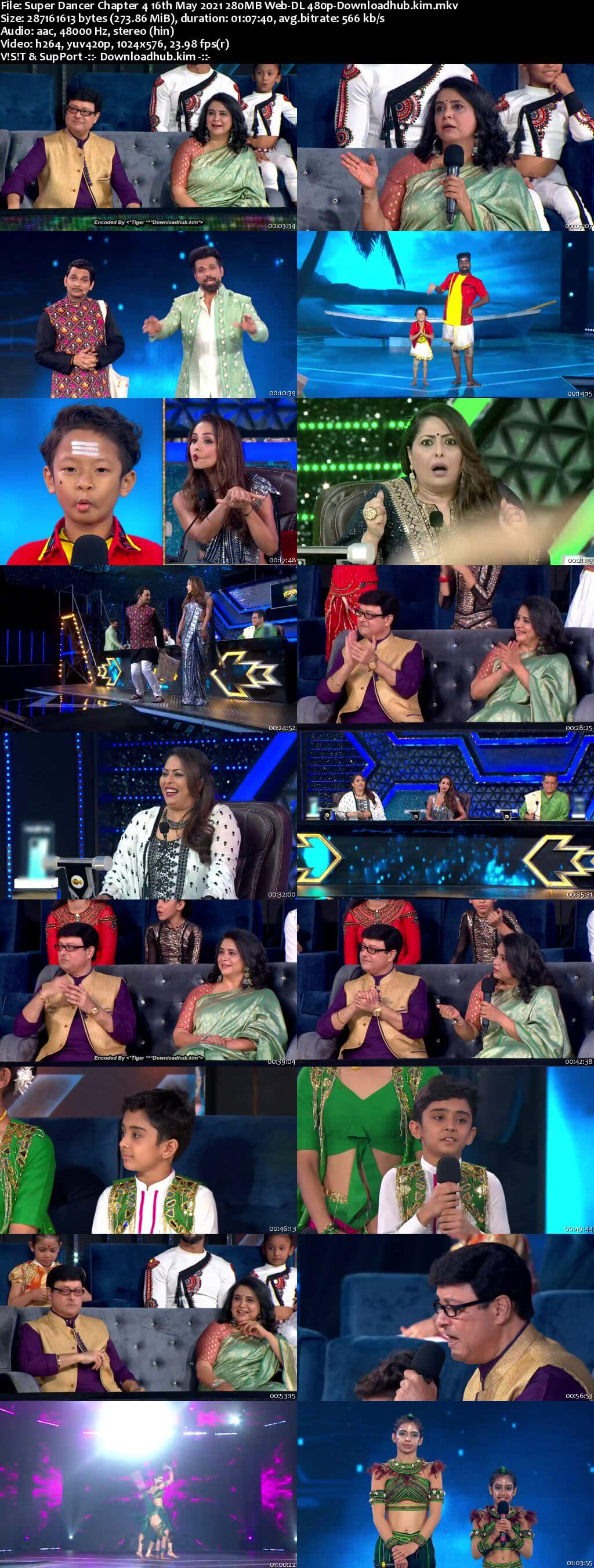Super Dancer Chapter 4 16th May 2021 280MB Web-DL 480p