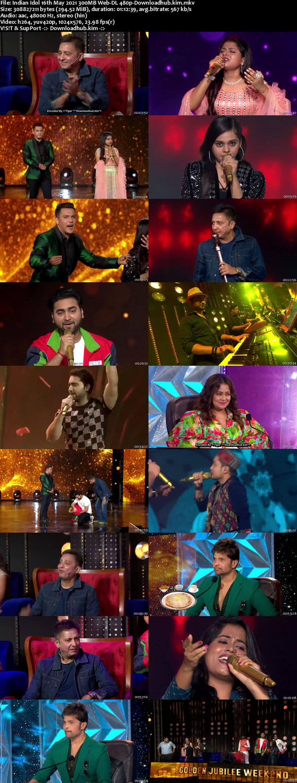Indian Idol 16 May 2021 Episode 50 Web-DL 480p