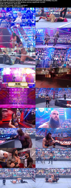 WWE Wrestlemania Backlash 16th May 2021 720p 750MB PPV WEBRip 480p