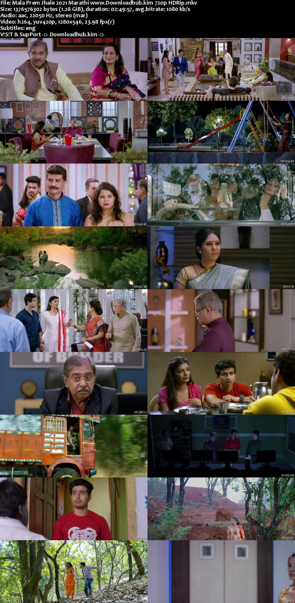 Mala Prem Jhale 2021 Marathi 720p HDRip ESubs