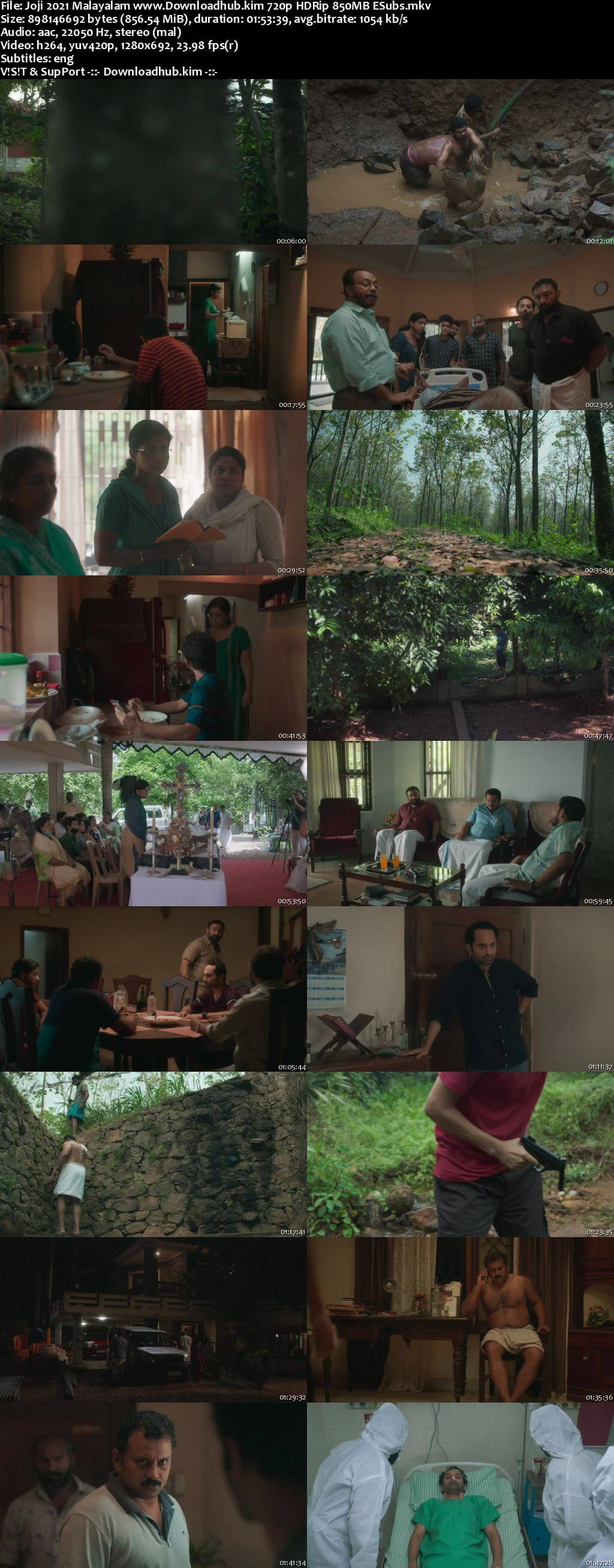 Joji 2021 Malayalam 720p HDRip ESubs