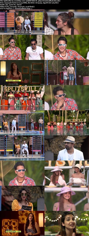 Splitsvilla X3 22nd May 2021 200MB Web-DL 480p