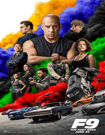 Fast And Furious 9 2021 English 400MB Web-DL 480p ESubs