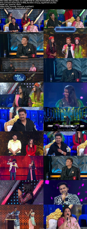 Indian Idol 23 May 2021 Episode 52 Web-DL 480p