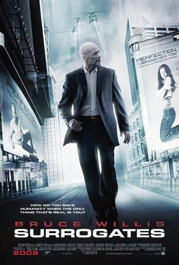 Surrogates 2009 Dual Audio Hindi English BRRip 720p 480p Movie Download