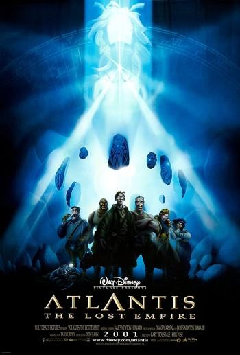 Atlantis The Lost Empire 2001 Dual Audio Hindi English BRRip 720p 480p Movie Download
