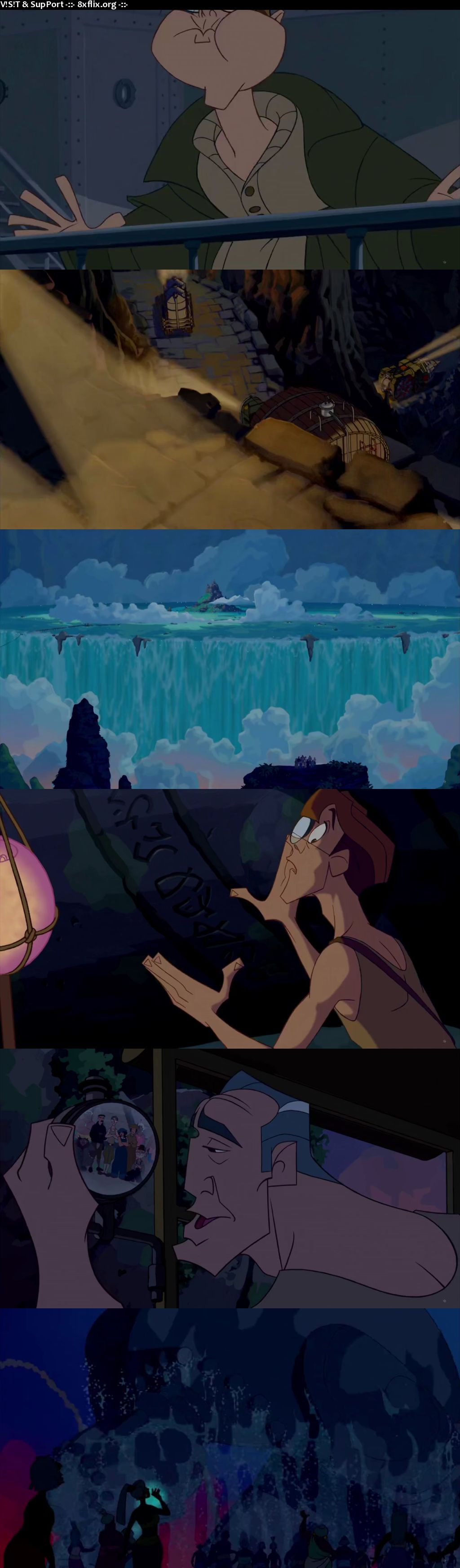 Atlantis The Lost Empire 2001 Hindi English Dual Audio 720p 480p BluRay