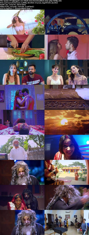 Queen of Sajjangarh 2021 Hindi 300MB HDRip 480p