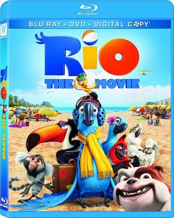 Rio 2011 Dual Audio Hindi Bluray Movie Download