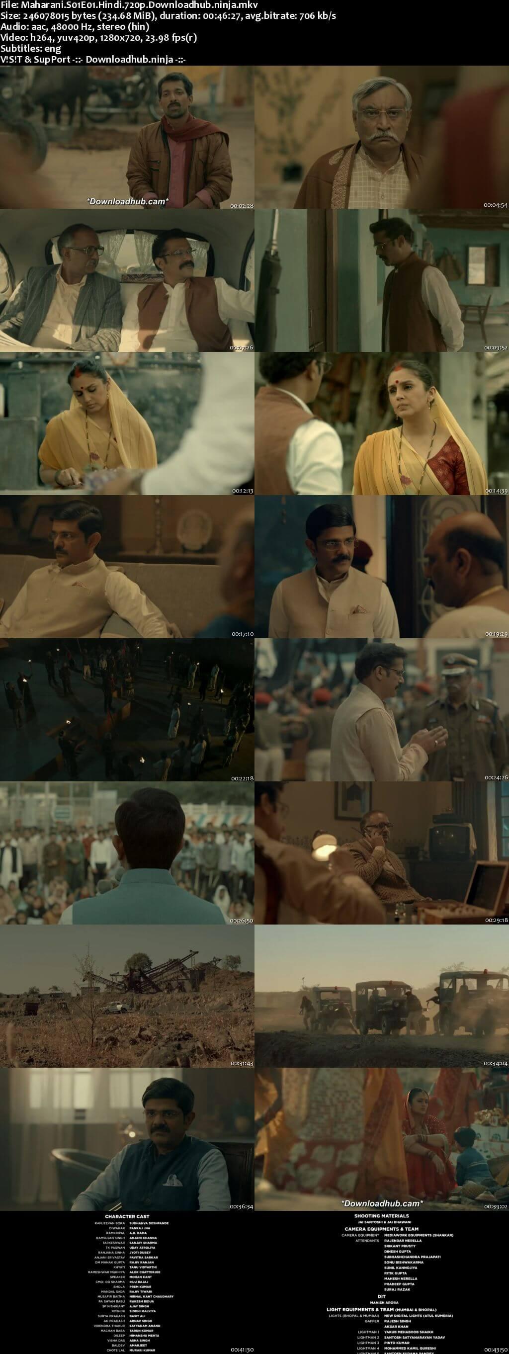 Maharani 2021 Hindi Season 01 Complete 720p HDRip ESubs