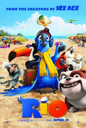 Rio 2011 Dual Audio Hindi English BRRip 720p 480p Movie Download