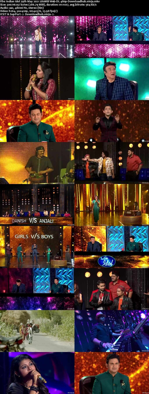Indian Idol 29 May 2021 Episode 53 Web-DL 480p
