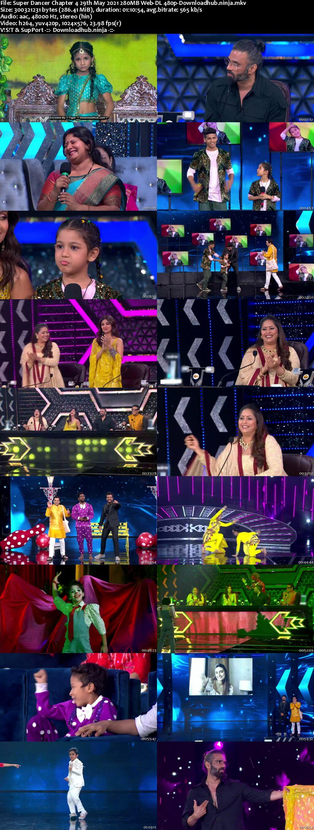 Super Dancer Chapter 4 29th May 2021 280MB Web-DL 480p