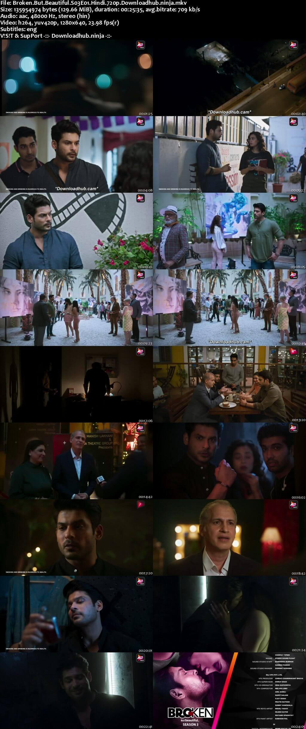 Broken But Beautiful 2021 Hindi Season 03 Complete 720p HDRip ESubs