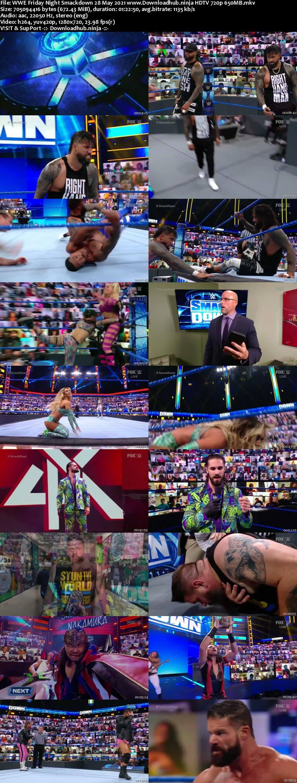 WWE Friday Night Smackdown 28th May 2021 720p 300MB HDTV 480p