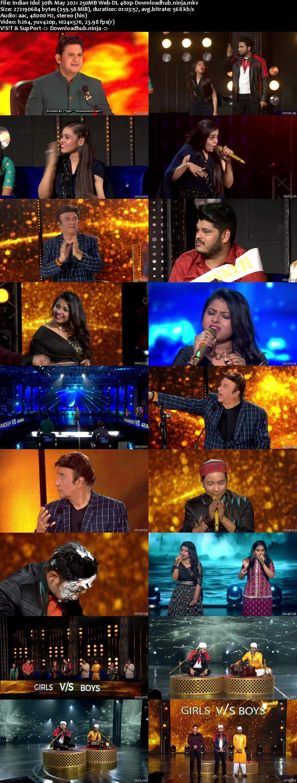 Indian Idol 30 May 2021 Episode 54 Web-DL 480p