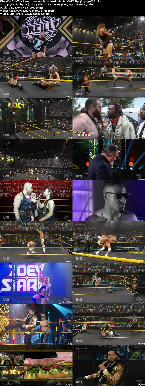 WWE NXT 1st June 2021 350MB WEBRip 480p