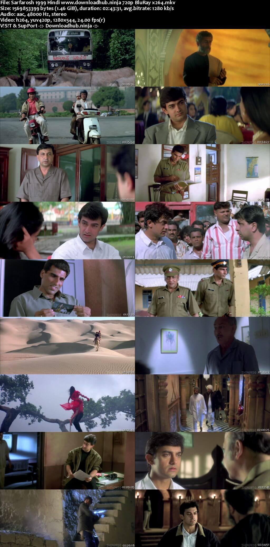 Sarfarosh 1999 Hindi 720p BluRay x264