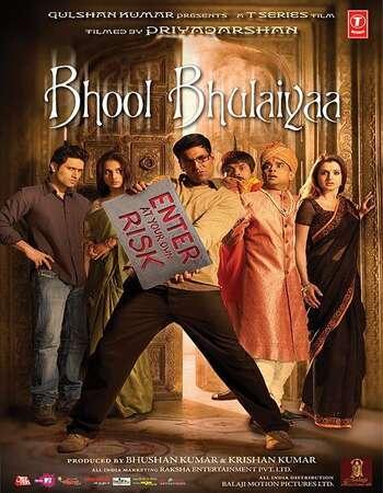 Bhool Bhulaiyaa 2007 Full Hindi Movie 720p BRRip Free Download