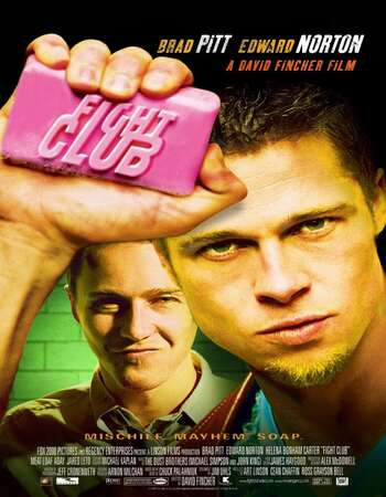 Fight Club 1999 Hindi Dual Audio BRRip Full Movie 480p Download