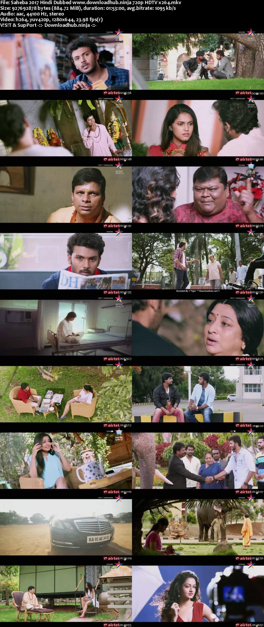 Saheba 2017 Hindi Dubbed 720p HDTV x264