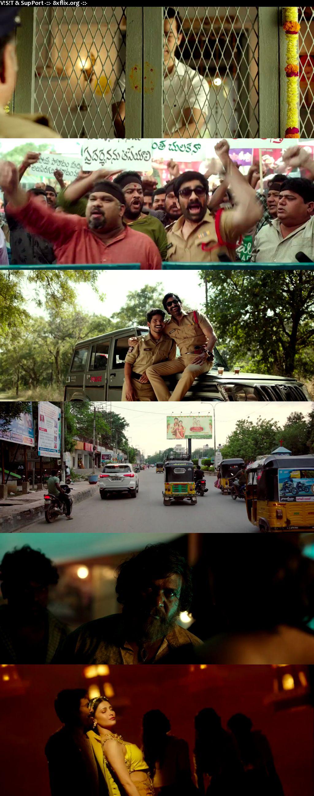Krack 2021 Hindi Telugu Dual Audio 720p 480p UNCUT HDRip
