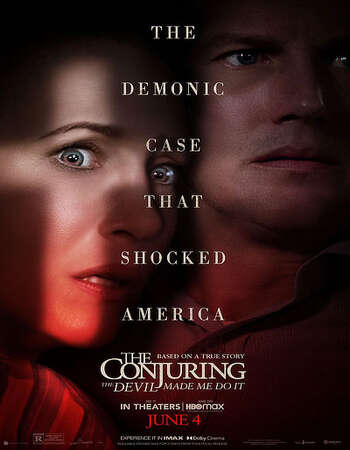 The Conjuring 3 The Devil Made Me Do It 2021 Hindi (Cleaned) Dual Audio 550MB Web-DL 720p HEVC