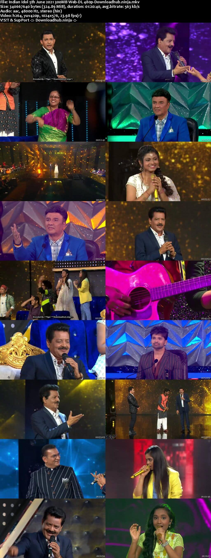 Indian Idol 05 June 2021 Episode 55 Web-DL 480p
