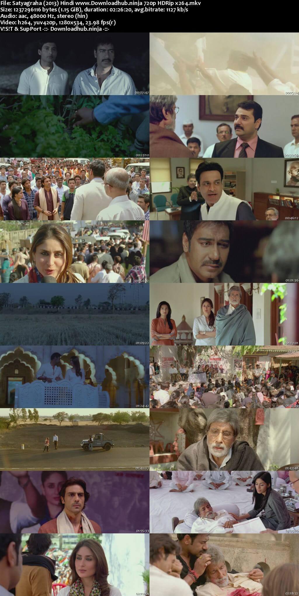 Satyagraha 2013 Hindi 720p HDRip x264