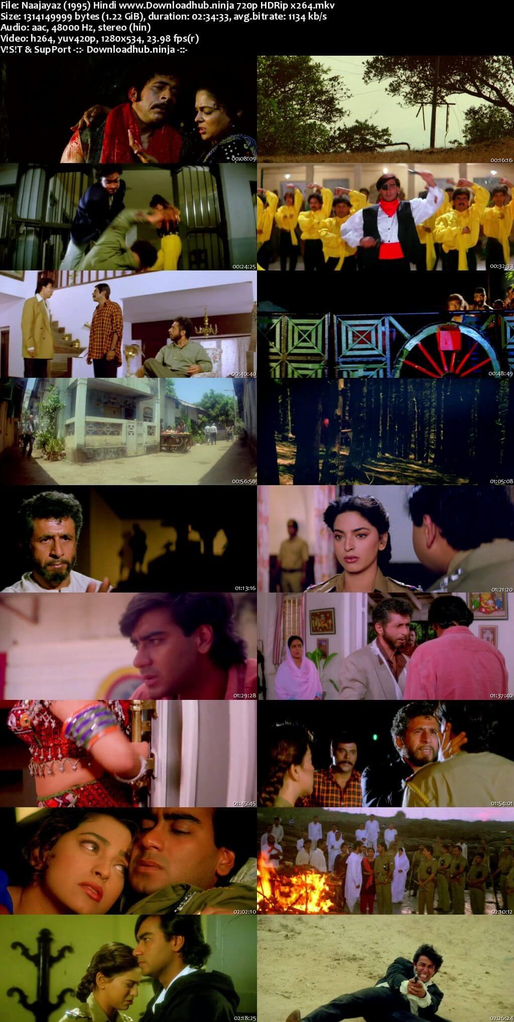 Naajayaz 1995 Hindi 720p HDRip x264