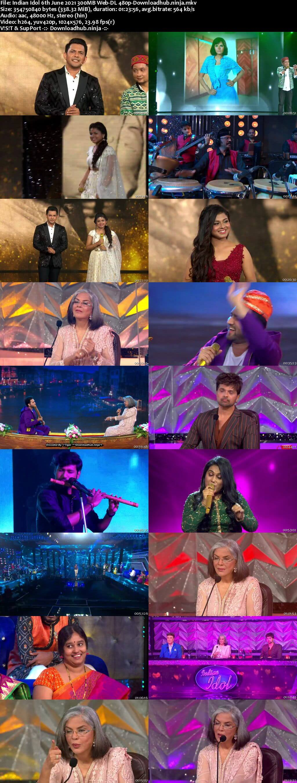 Indian Idol 06 June 2021 Episode 56 Web-DL 480p