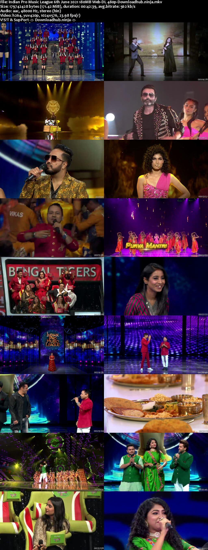 Indian Pro Music League 6th June 2021 180MB Web-DL 480p