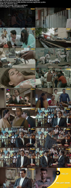 The Last Show 2021 Hindi Part 02 ULLU WEB Series 720p HDRip x264