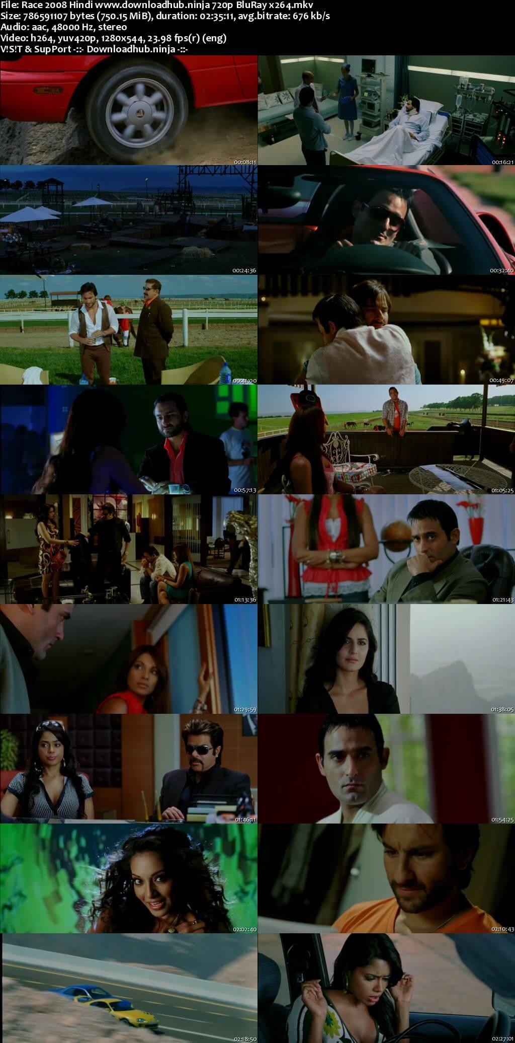 Race 2008 Hindi 720p BluRay x264