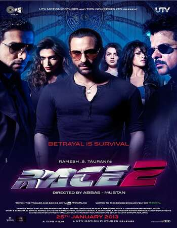 Race 2 2013 Hindi 720p BluRay ESubs