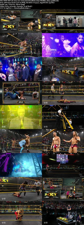 WWE NXT 8th June 2021 350MB WEBRip 480p