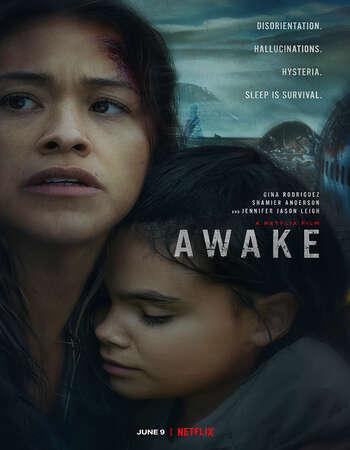 Awake 2021 Hindi Dual Audio 720p Web-DL MSubs