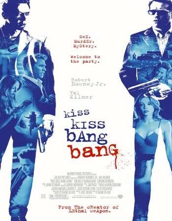 Kiss Kiss Bang Bang 2005 Hindi Dual Audio 350MB BluRay 480p ESubs