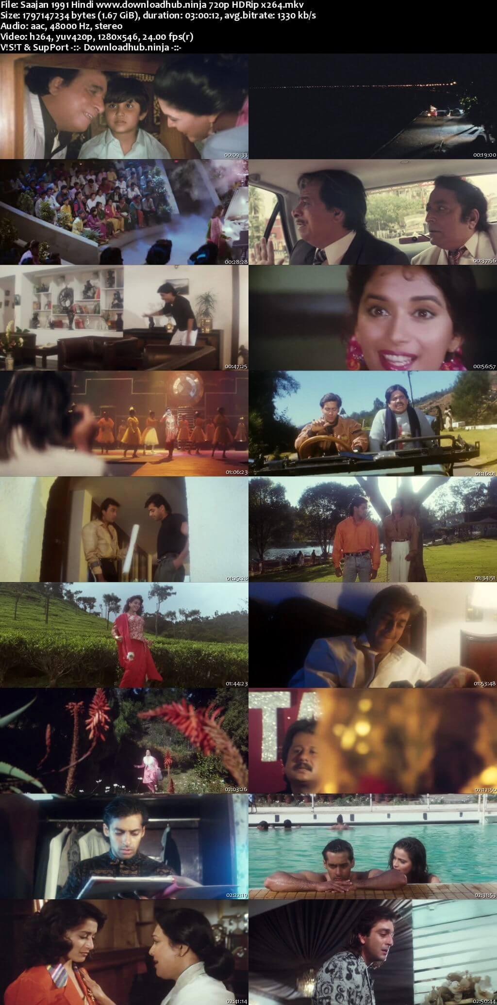 Saajan 1991 Hindi 720p HDRip x264