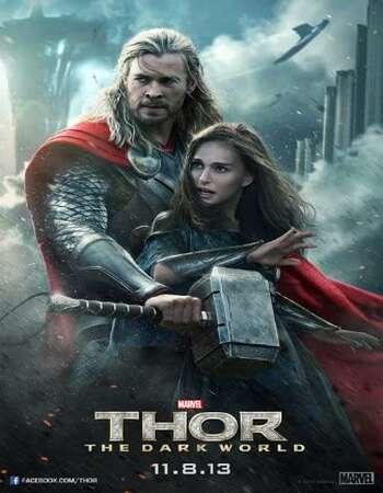 Thor The Dark World 2013 Hindi Dual Audio 350MB BluRay 480p ESubs