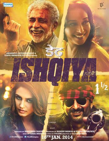 Dedh Ishqiya 2014 Hindi 720p HDRip x264