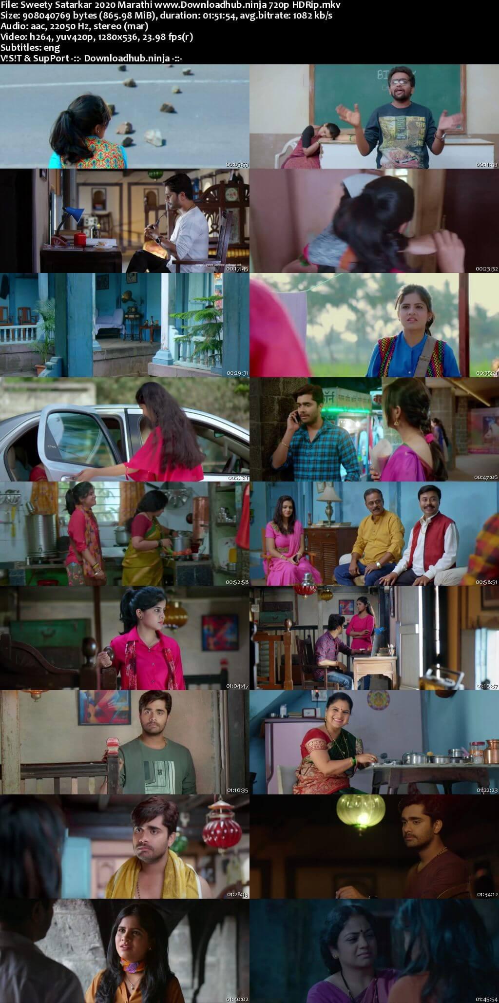 Sweety Satarkar 2020 Marathi 720p HDRip ESubs