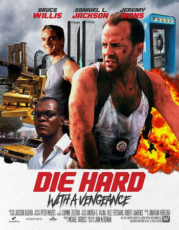 Die Hard With a Vengeance 1995 Hindi Dual Audio 400MB BluRay 480p ESubs
