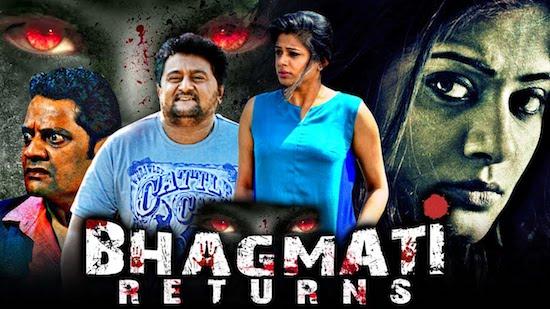 Bhagmati Returns 2021 Hindi Dubbed 480p HDRip 350mb
