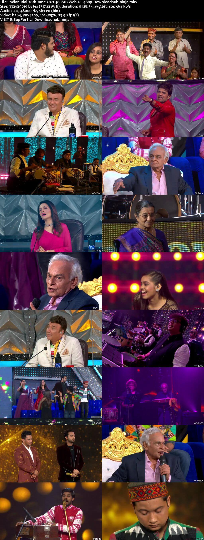 Indian Idol 20 June 2021 Episode 60 Web-DL 480p