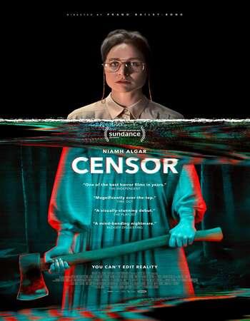 Censor 2021 English 250MB Web-DL 480p ESubs