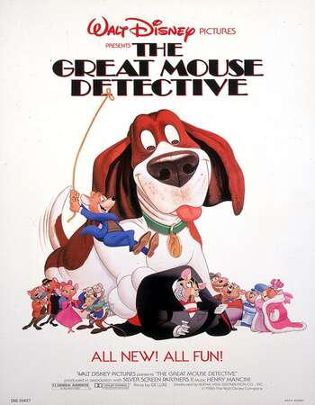 The Great Mouse Detective 1986 Hindi Dual Audio 250MB BluRay 480p