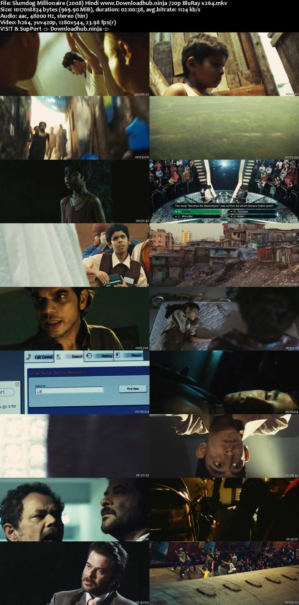 Slumdog Millionaire 2008 Hindi 720p BluRay x264